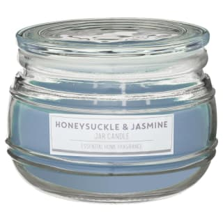 Large Scented Candle Jar - Honeysuckle & Jasmine