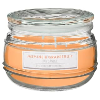 Large Scented Candle Jar - Jasmine & Grapefruit