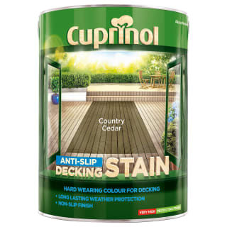 Cuprinol Anti-Slip Decking Stain Country Cedar 5L