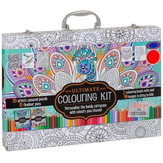 Ultimate Colouring Kit Carry Case