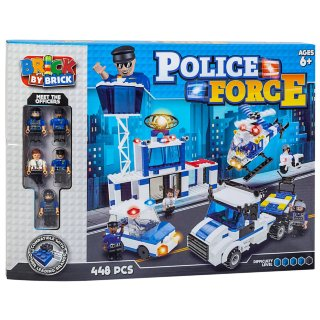 Brick by Brick Police Force Play Set