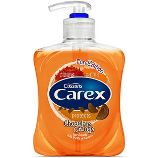 Carex Hand Wash Kids 250ml - Chocolate Orange