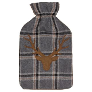 Heritage Collection Hot Water Bottle 2L - Grey Stag Head
