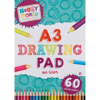 Hobby World A3 Drawing Pad