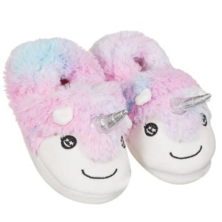 Kids Unicorn Slippers Sizes 8-2