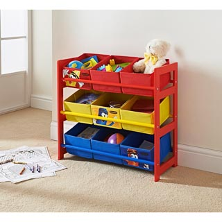 Crayola Kids 9 Tub Storage Frame