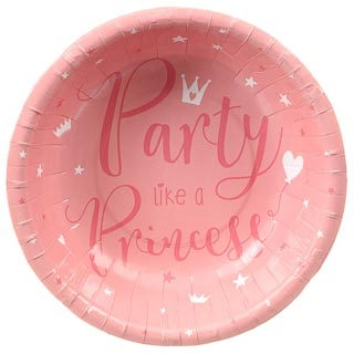 Kids Party Paper Bowls 20pk - Princess