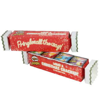 Pringles Christmas Cracker Tube 4pk