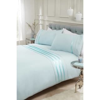 Evie Ribbon King Size Duvet Set