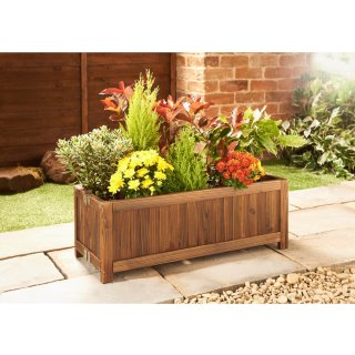 Burntwood Folding Planter