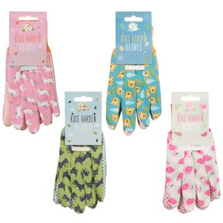 Kids Gardening Gloves - Cheetah