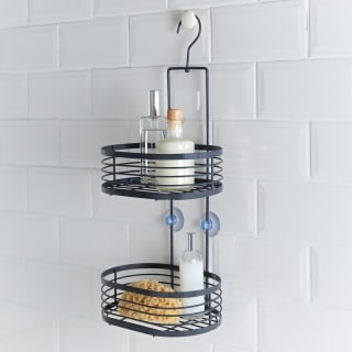 Addis Powder Coated 2 Tier Caddy - Grey