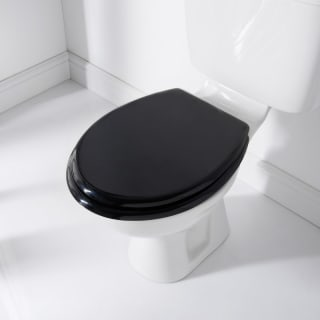 Addis Moulded Toilet Seat - Black