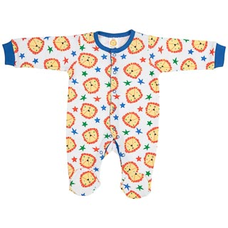 Baby Sleepsuit 2pk - Lion