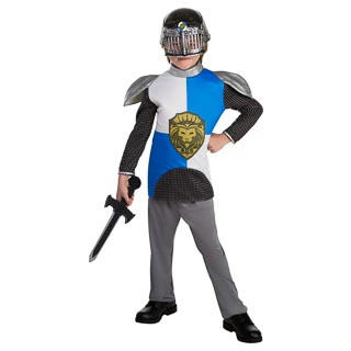 Dress-Up Outfit Age 6-8 - Blue Knight