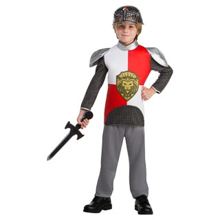 Dress-Up Outfit Age 3-5 - Red Knight
