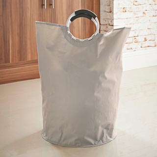 Addis Laundry Bag with Handles - Natural