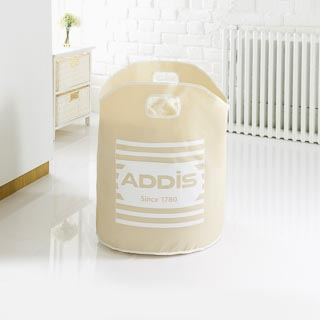 Addis Printed Laundry Bag - Natural