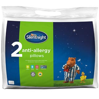 Silentnight Anti-Allergy Pillows 2pk