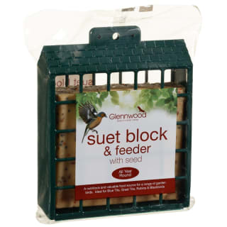 Glennwood Suet Block in Feeder 280g