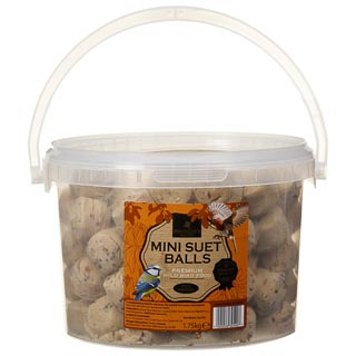 Mini Suet Balls in Tub 1.75kg