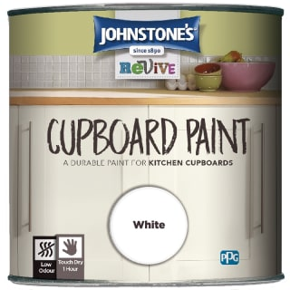 Johnstone's Revive Cupboard Paint 750ml - White