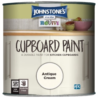 Johnstone's Revive Cupboard Paint 750ml - Antique Cream