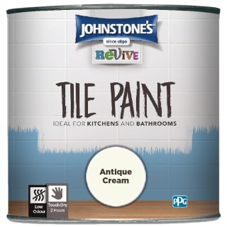 Johnstone's Revive Tile Paint 750ml - Antique Cream