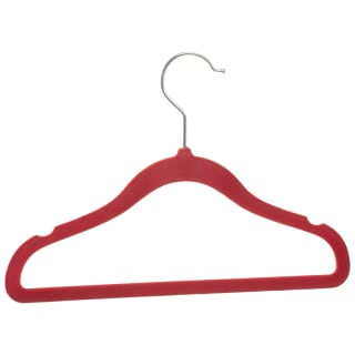 Children's Non-Slip Hangers 8pk - Red & Blue
