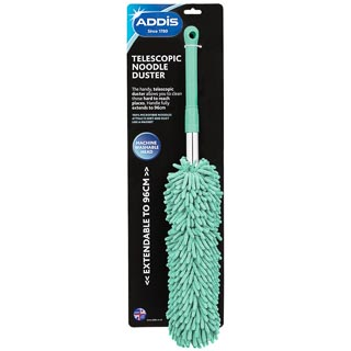 Addis Telescopic Noodle Duster - Aqua