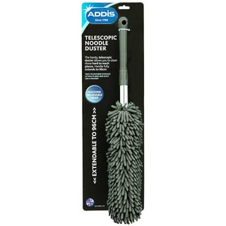 Addis Telescopic Noodle Duster - Charcoal