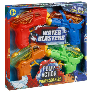 Pump Action Power Soakers 4pk