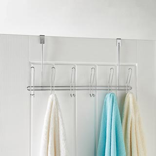 Addis Overdoor Hooks - Chrome