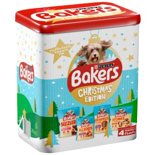 Bakers Christmas Gift Tin