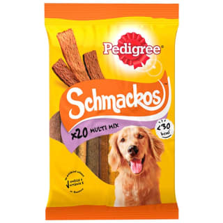 Pedigree Schmackos Multi Mix 20pk