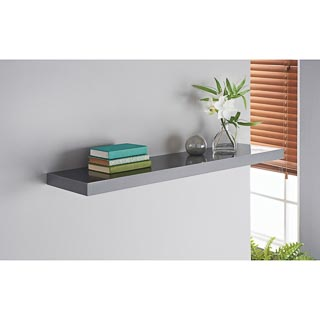Norsk High Gloss Shelves 90cm