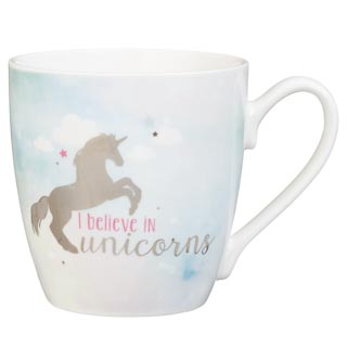 Unicorn Mug - I Believe in Unicorns
