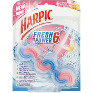 Harpic Fresh Power 6 Block - Tropical Blossom