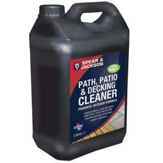 Spear & Jackson Path, Patio, Decking Cleaner 5L