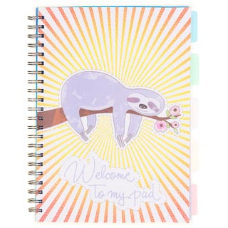 A4 Project Notebook - Sloth