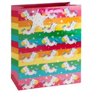 Unicorn Gift Bag - Rainbow