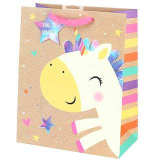 Unicorn Gift Bag - Time to Sparkle