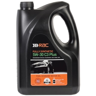 RAC 5W-30 C3 Plus Fully Synthetic Oil 4L