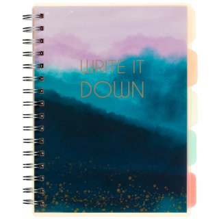 A5 Project Notebook - Write it Down