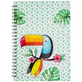 A4 Hardback Notebook - Toucan
