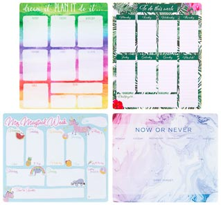 Weekly Planner Pad - Now or Never