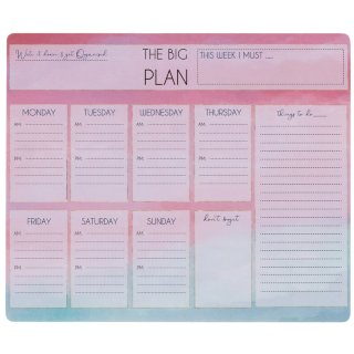Weekly Planner Pad - The Big Plan