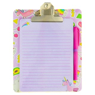 Clipboard & Notepad - Unicorn