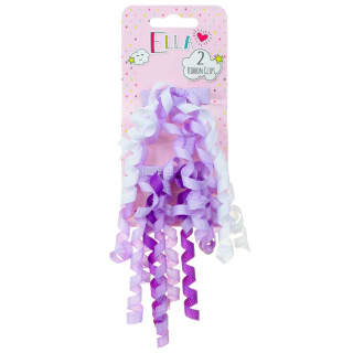 Ella Hair Butterfly Clips 6pk - Purple