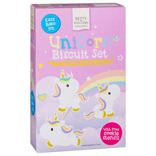 Betty Winters Unicorn Biscuit Kit 205g
